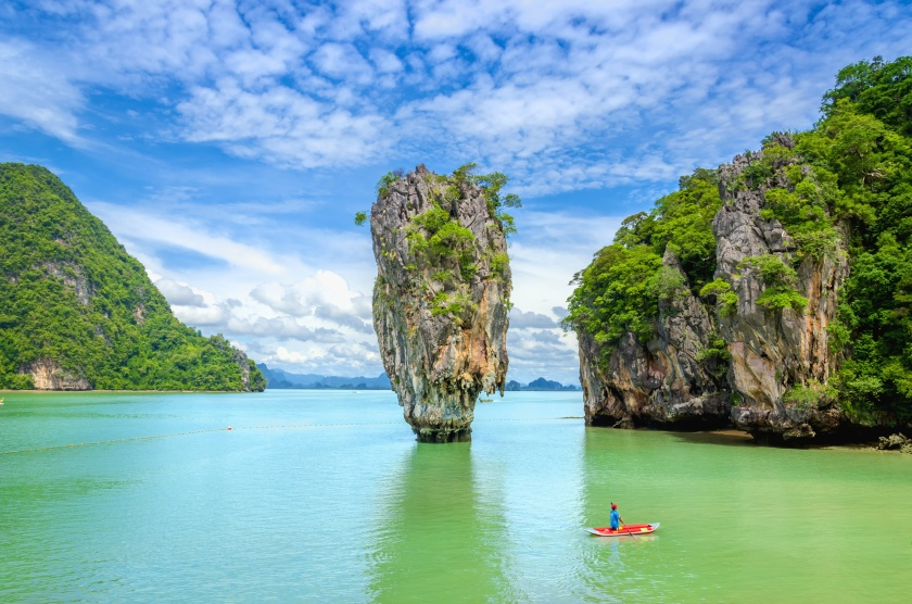 James Bond Island (Ko Tapu), Phang Nga Bay, Tahiland